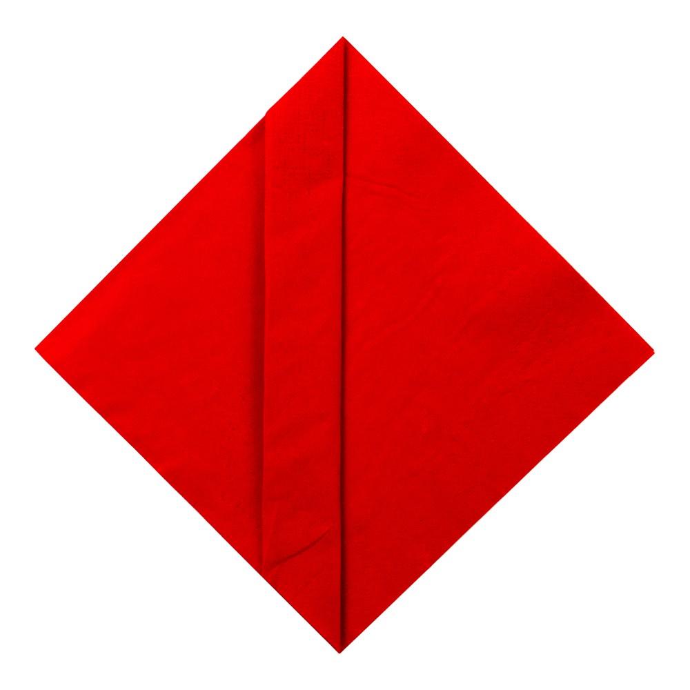 Bestecktasche falten, origami serviette, ostern, hochzeit, weihnachten, einfach basteln