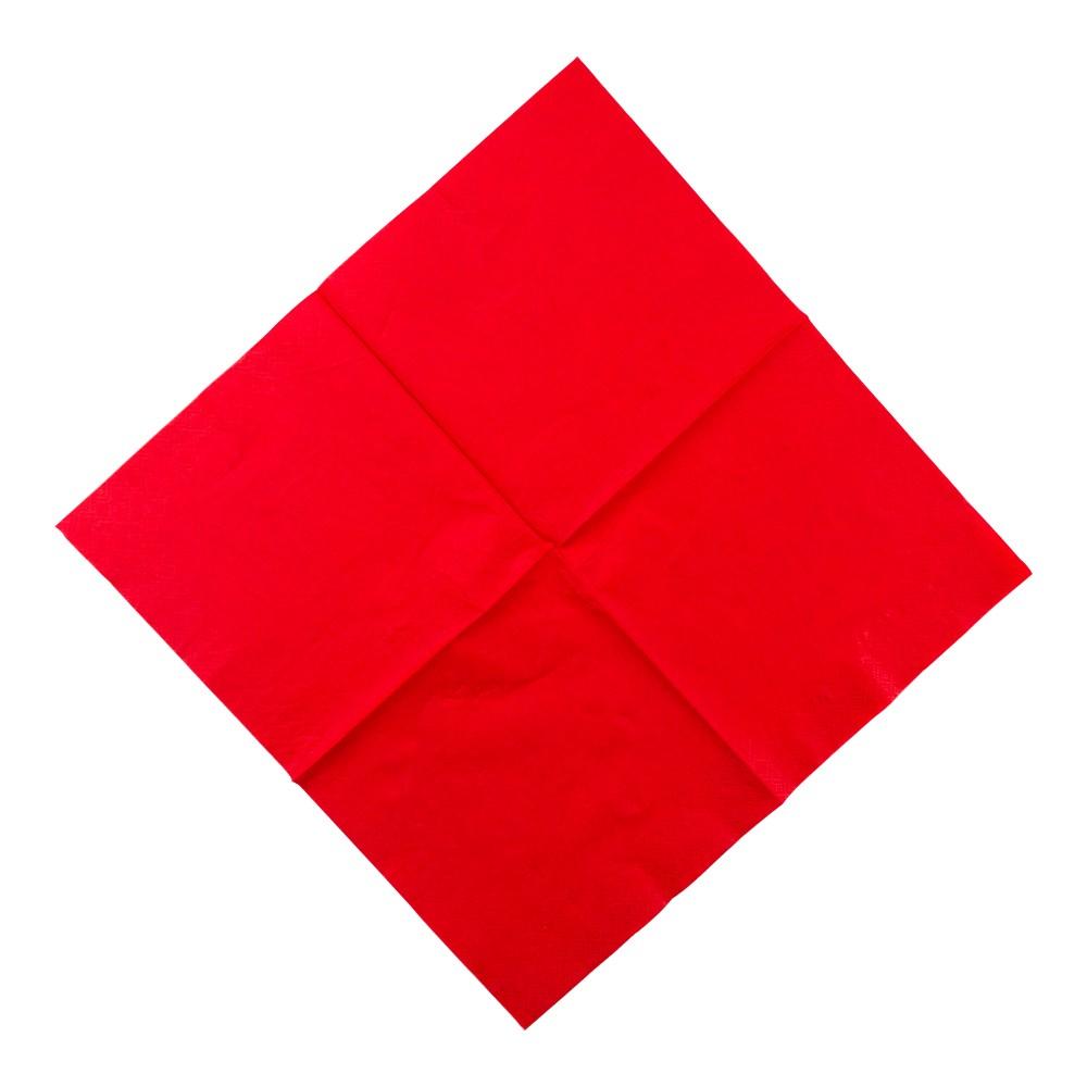 Serviette Blatt falten - Schritt 1