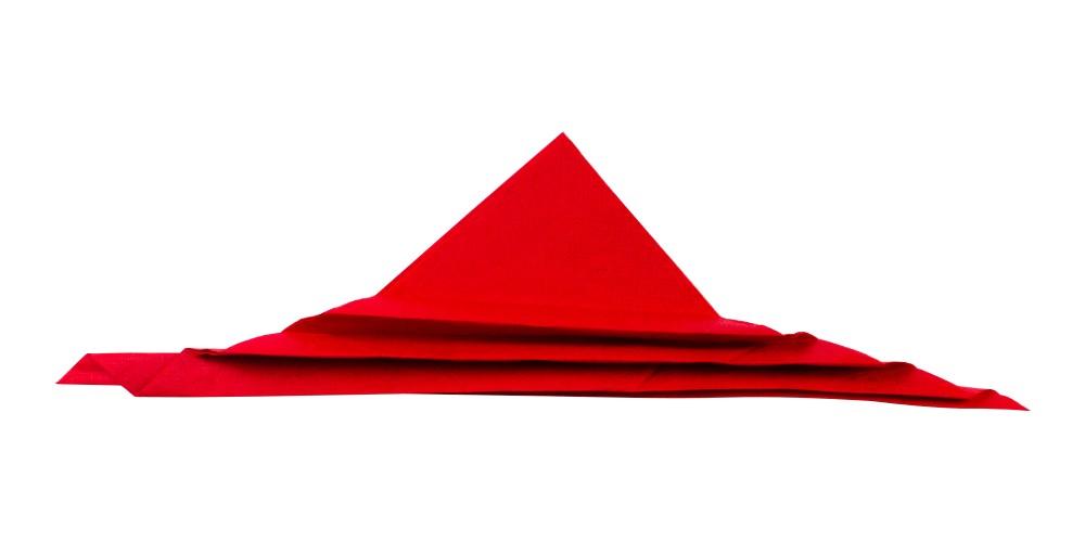 Serviette Blatt falten - Schritt 4