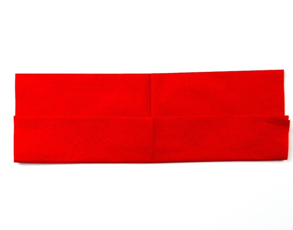 Herz Servietten falten, servietten falten zweifarbig, herz serviette, serviette falten, papierserviette falten, stoffserviette, falten einer serviette, einfach basteln