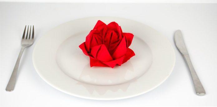 rose serviette falten, rose falten anleitung, servietten falten einfach, servietten falten anleitung, einfach basteln, servietten hochzeit