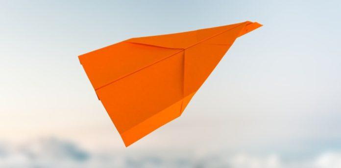 flieger wizard, einfach basteln, papierflugzeug basteln, papierflieger falten, papierflieger bauen