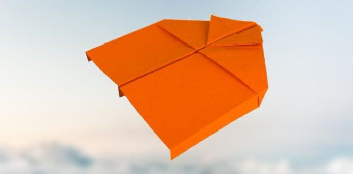 papierflieger geliter, basteln, der beste papierflieger, einfach basteln, papierflieger anleitung