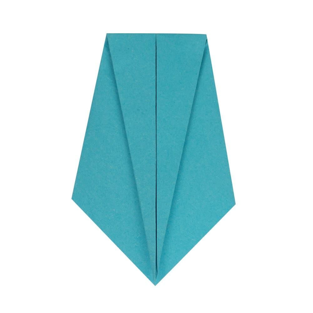 Origami Kranich - Schritt 7
