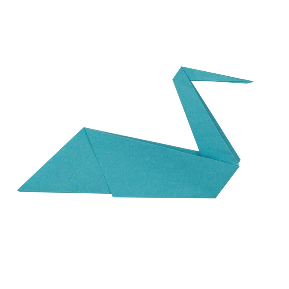 Origami Kranich - Schritt 11