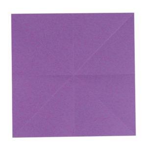 Origami Blume Schritt 5