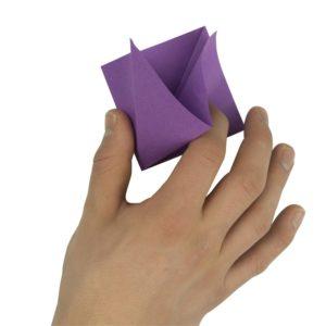 Origami Blume Schritt 9