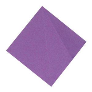 Origami Blume Schritt 14