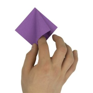 Origami Blume Schritt 15
