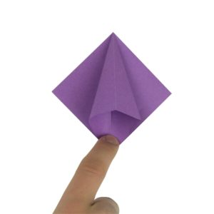 Origami Blume Schritt 16