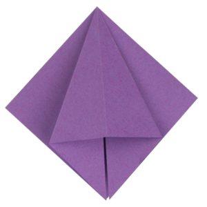 Origami Blume Schritt 17