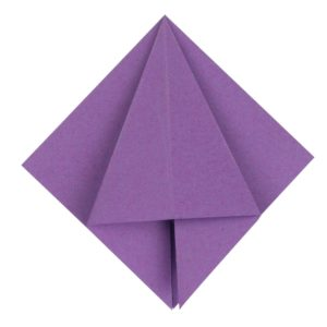 Origami Blume Schritt 19