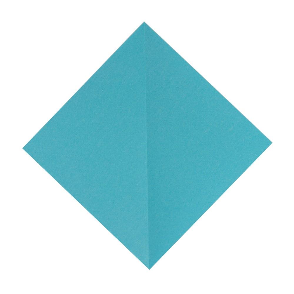 Origami Kranich - Schritt 1
