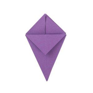 Origami Blume Schritt 21