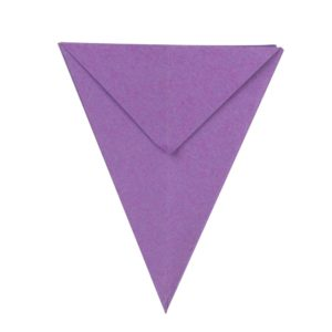 Origami Blume Schritt 22