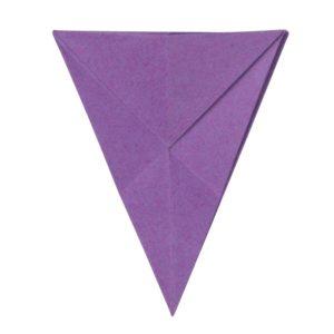 Origami Blume Schritt 24