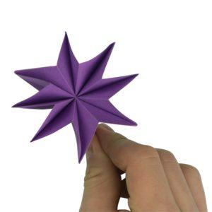 Origami Blume fertig gestellt