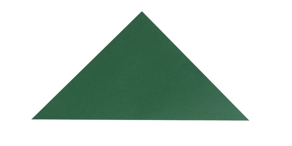 Dreiecksschachtel Schritt 1