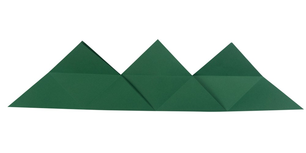 Dreiecksschachtel Schritt 5