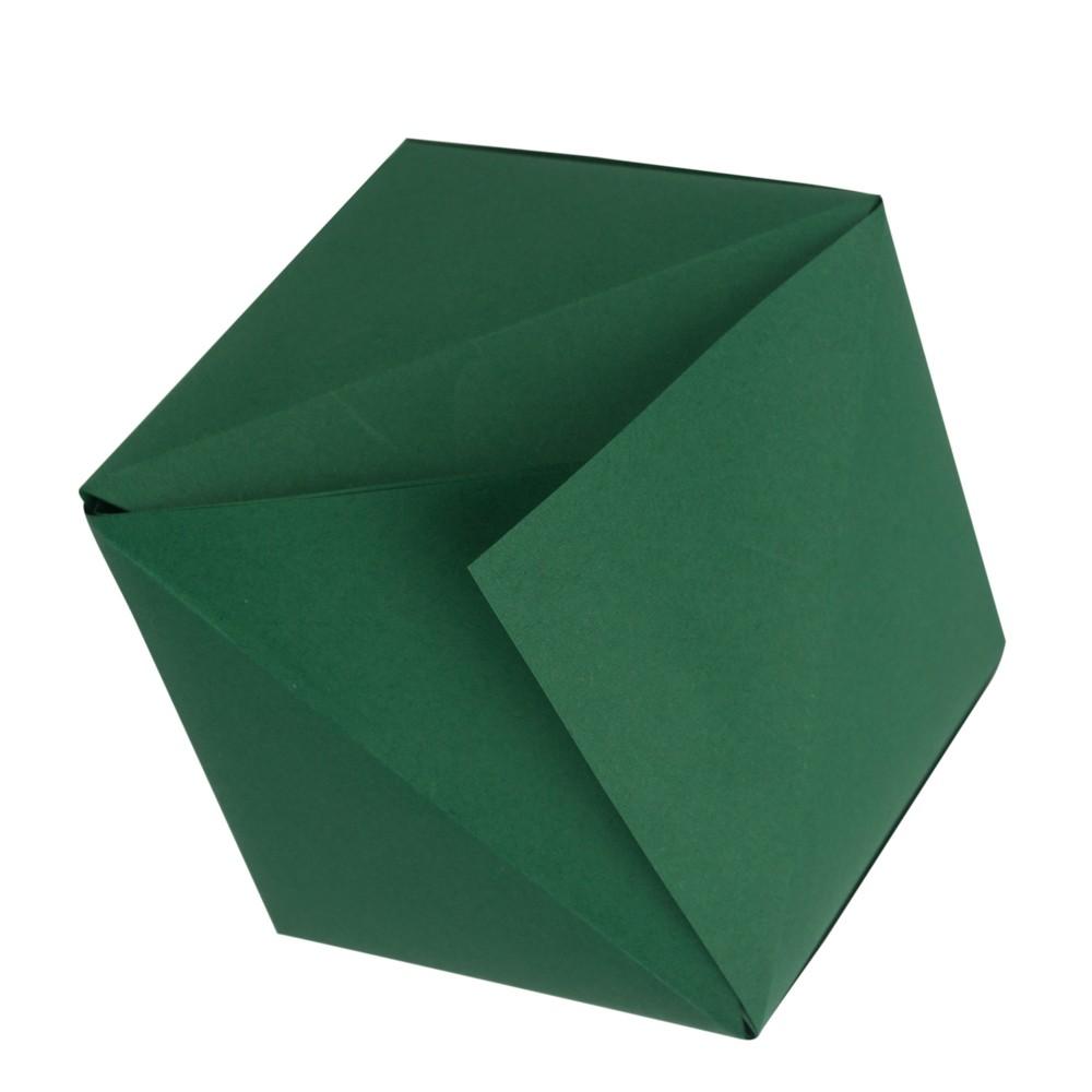Dreiecksschachtel Schritt 8