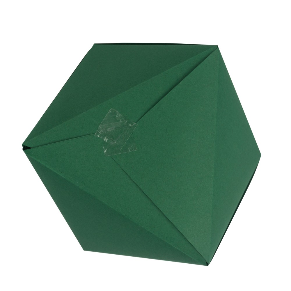Dreiecksschachtel Schritt 9