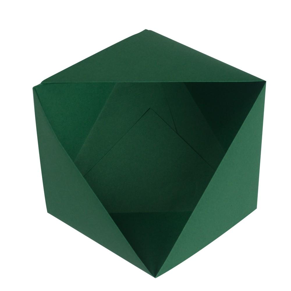 Dreiecksschachtel fertig gestellt