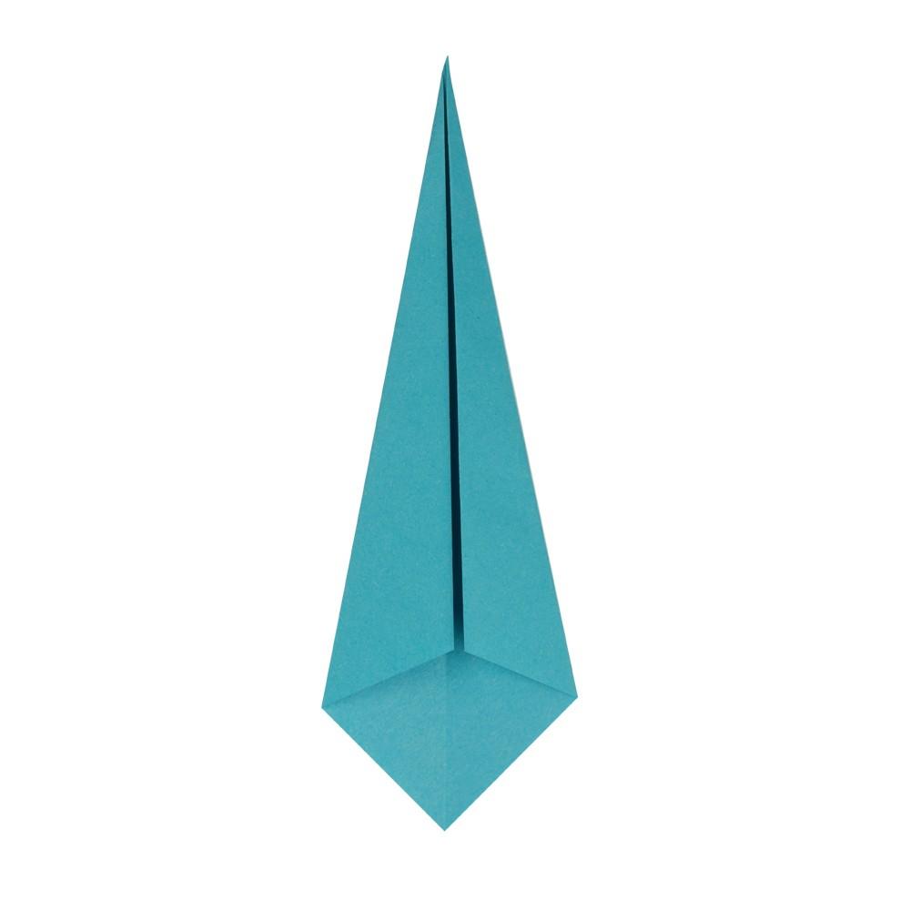 Origami Kranich - Schritt 5