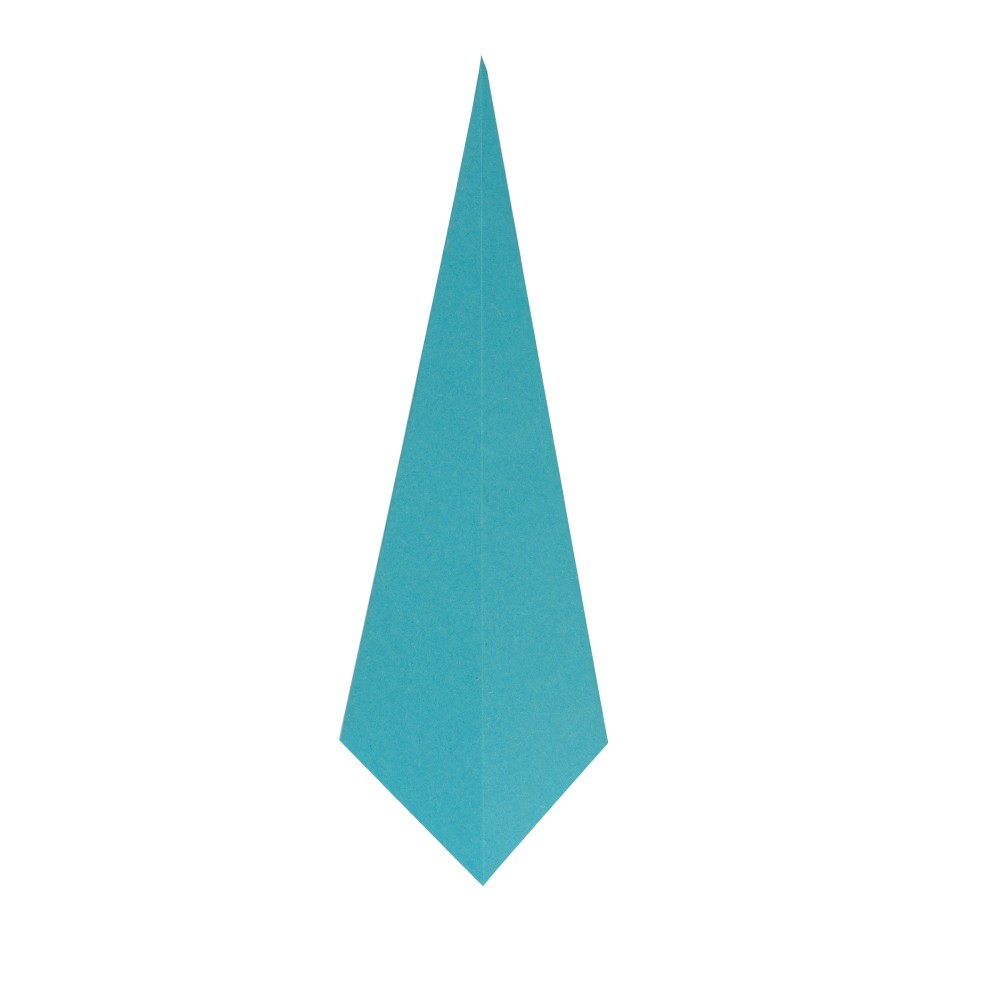 Origami Kranich - Schritt 6
