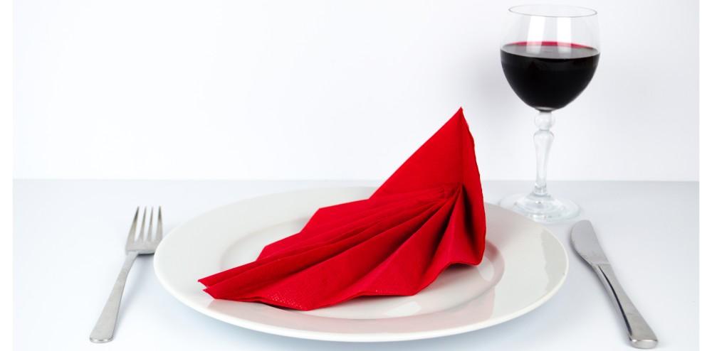servietten blatt falten 5 einfache schritte anleitung. Black Bedroom Furniture Sets. Home Design Ideas