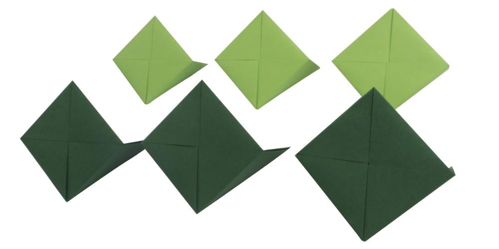 Häufig 3d Origami Anleitung - Würfel falten - Faltanleitung von Einfach PS72