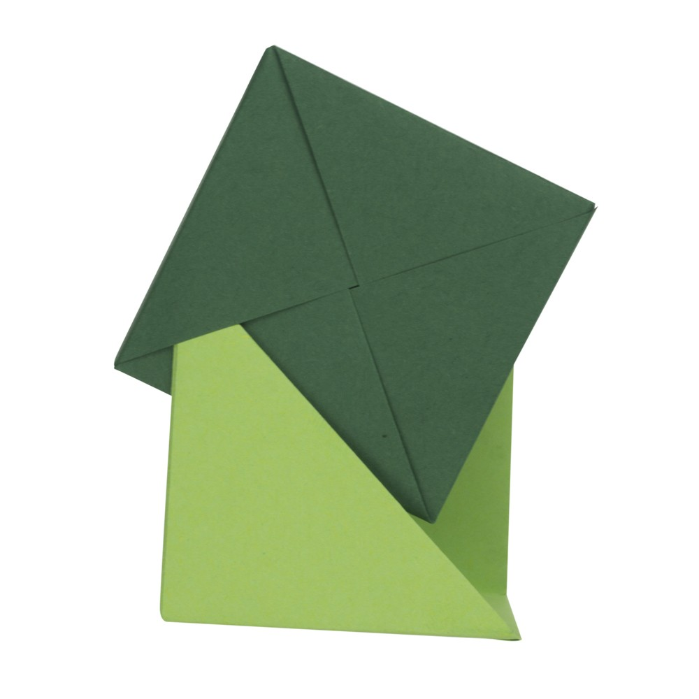 Hervorragend 3d Origami Anleitung - Würfel falten - Faltanleitung von Einfach ZH85