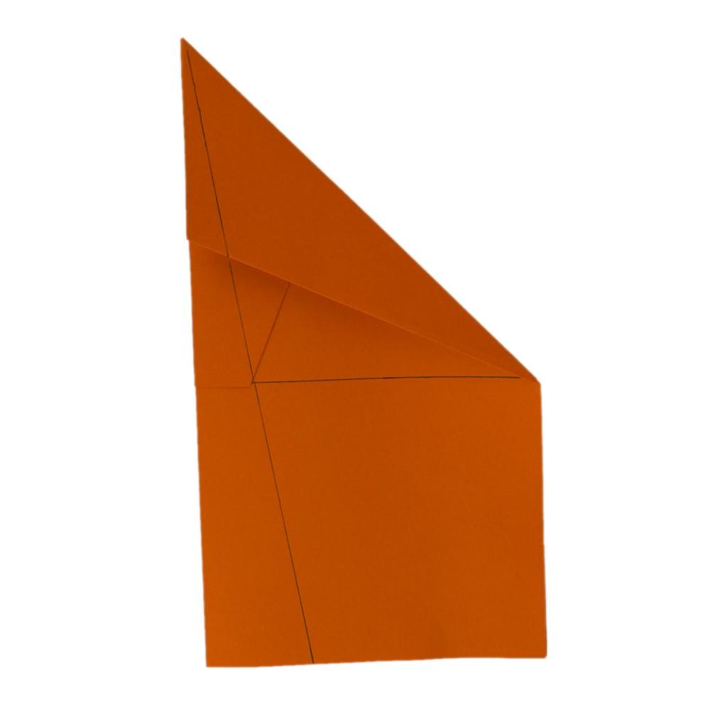 Weltrekord Papierflieger - Schritt 10