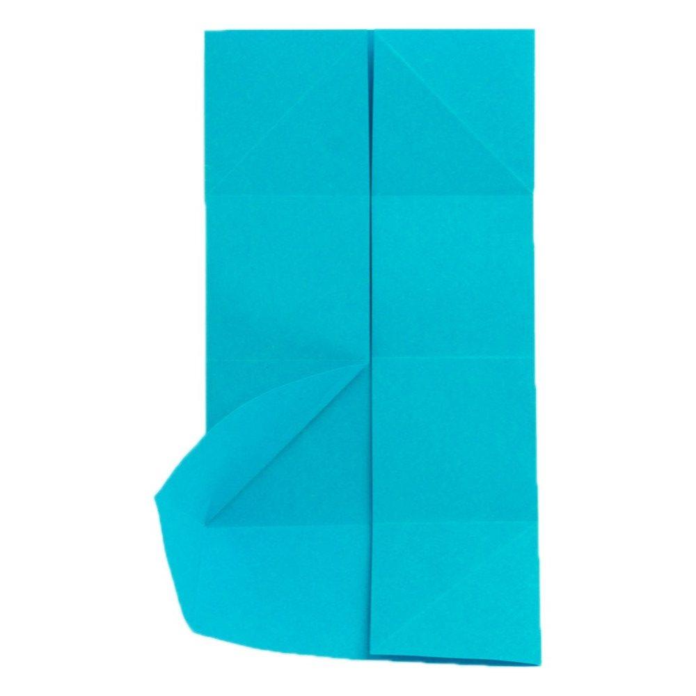 Origami Schmetterling Schritt 9