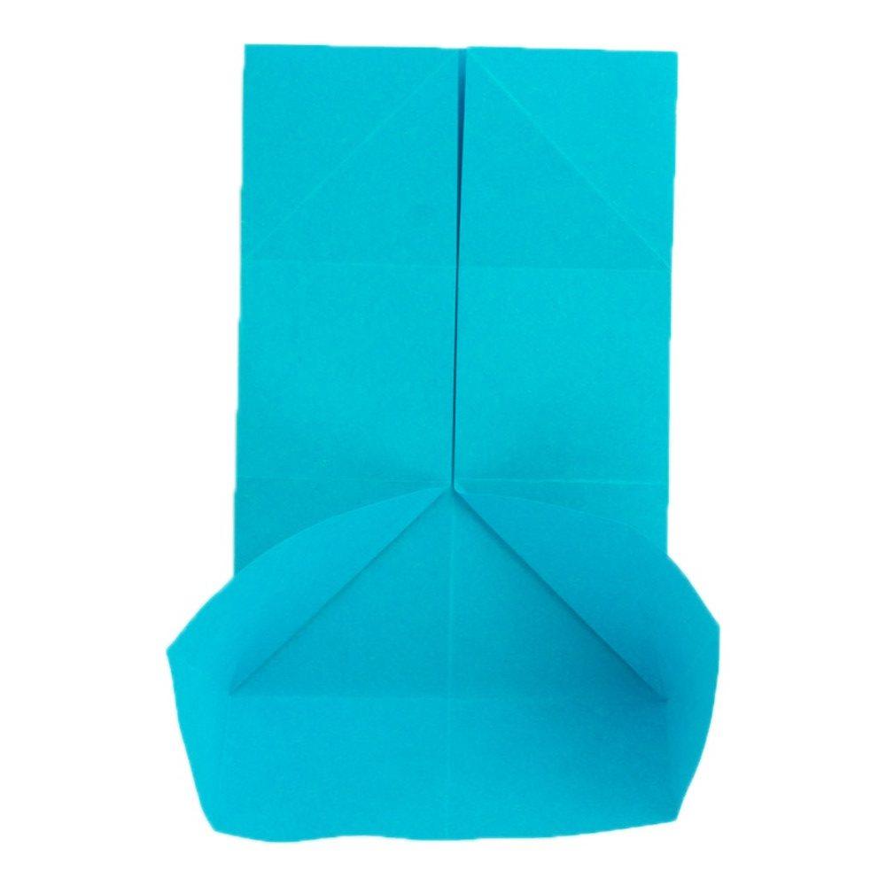 Origami Schmetterling Schritt 10