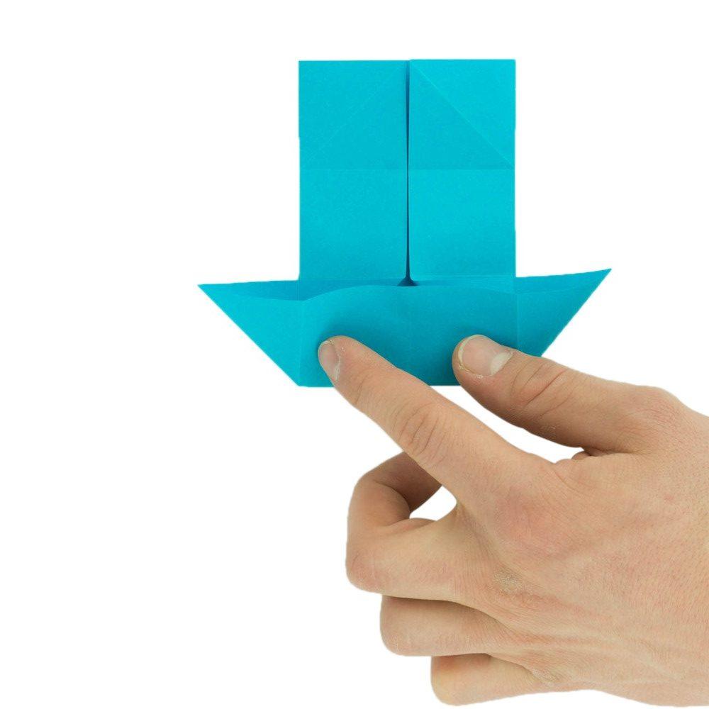 Origami Schmetterling Schritt 11