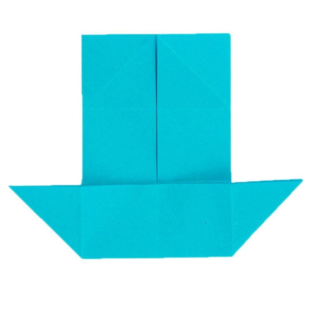 Origami Schmetterling Schritt 12