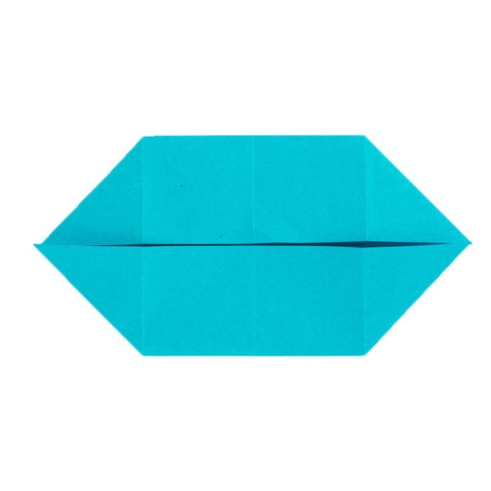 Origami Schmetterling Schritt 13