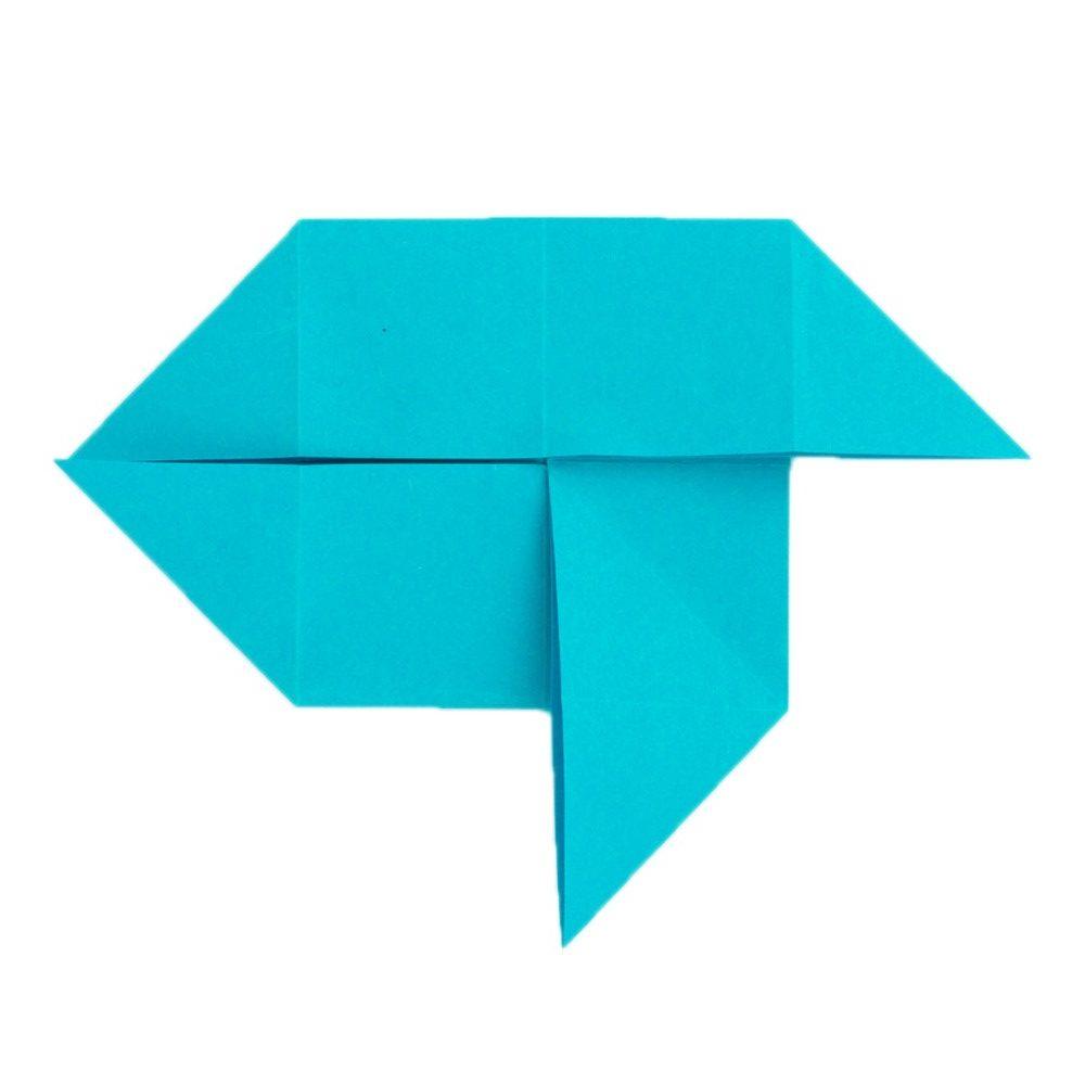 Origami Schmetterling Schritt 14