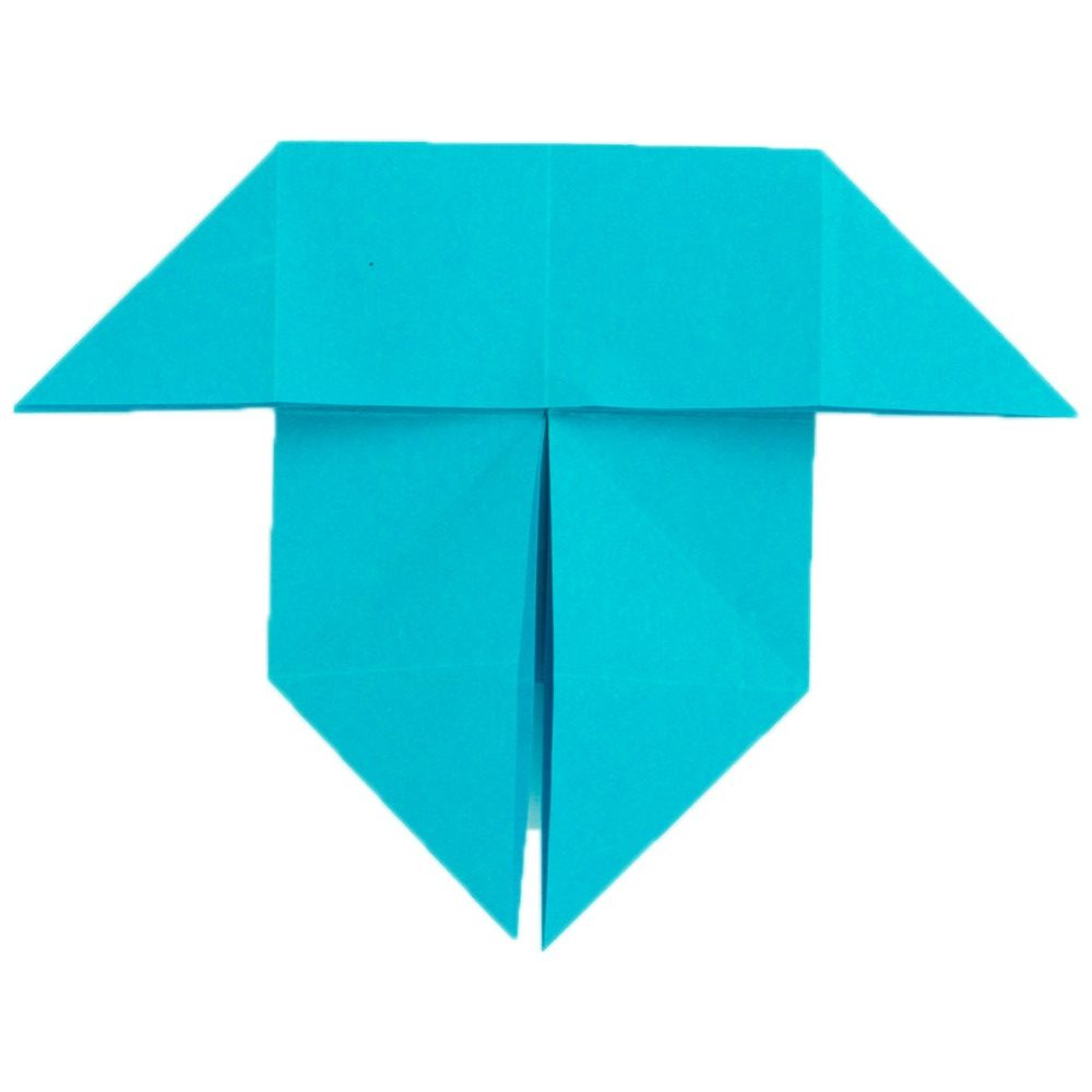 Origami Schmetterling Schritt 15