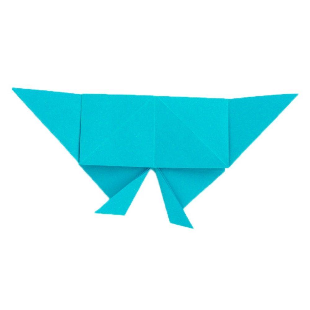 Origami Schmetterling Schritt 17