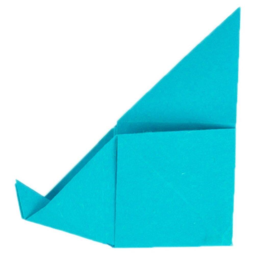 Origami Schmetterling Schritt 18