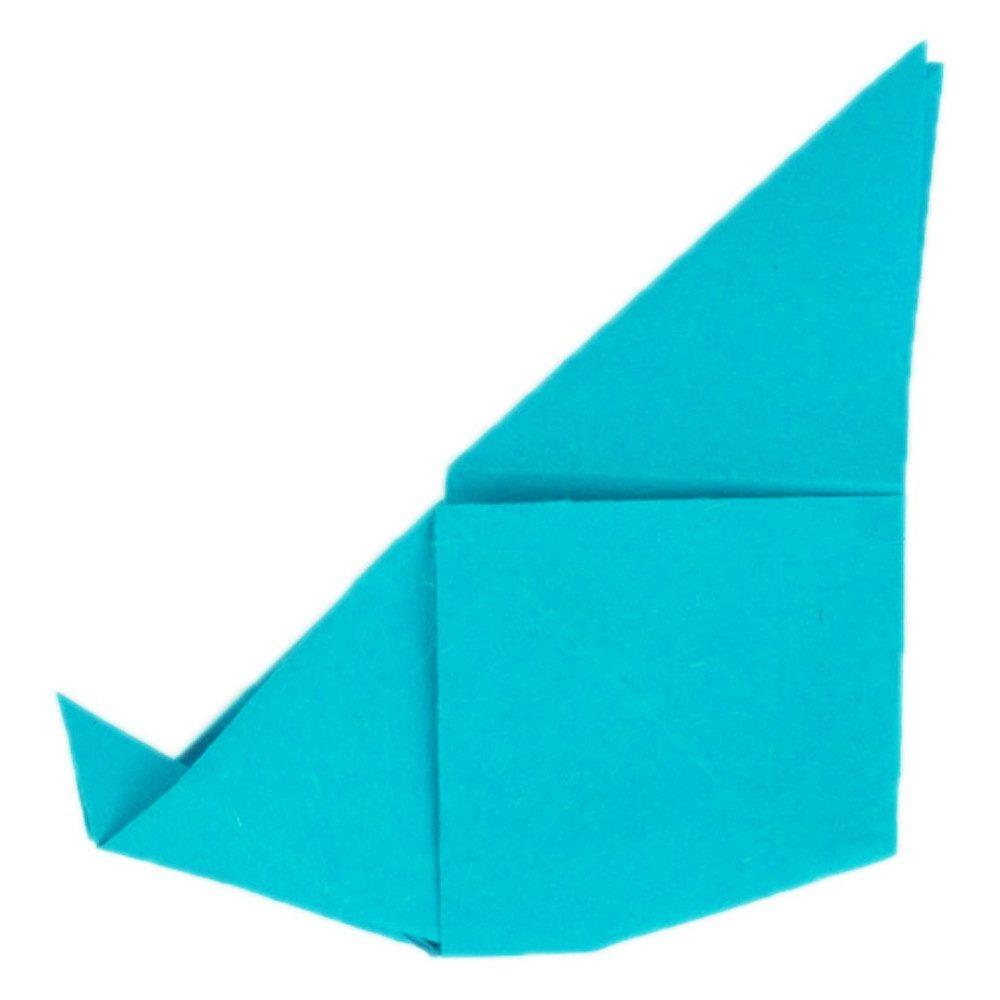 Origami Schmetterling Schritt 21