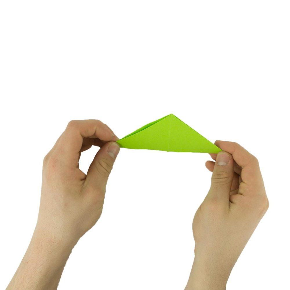 Frosch falten - Schritt 7