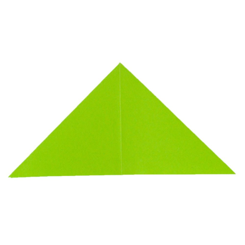 Frosch falten - Schritt 8