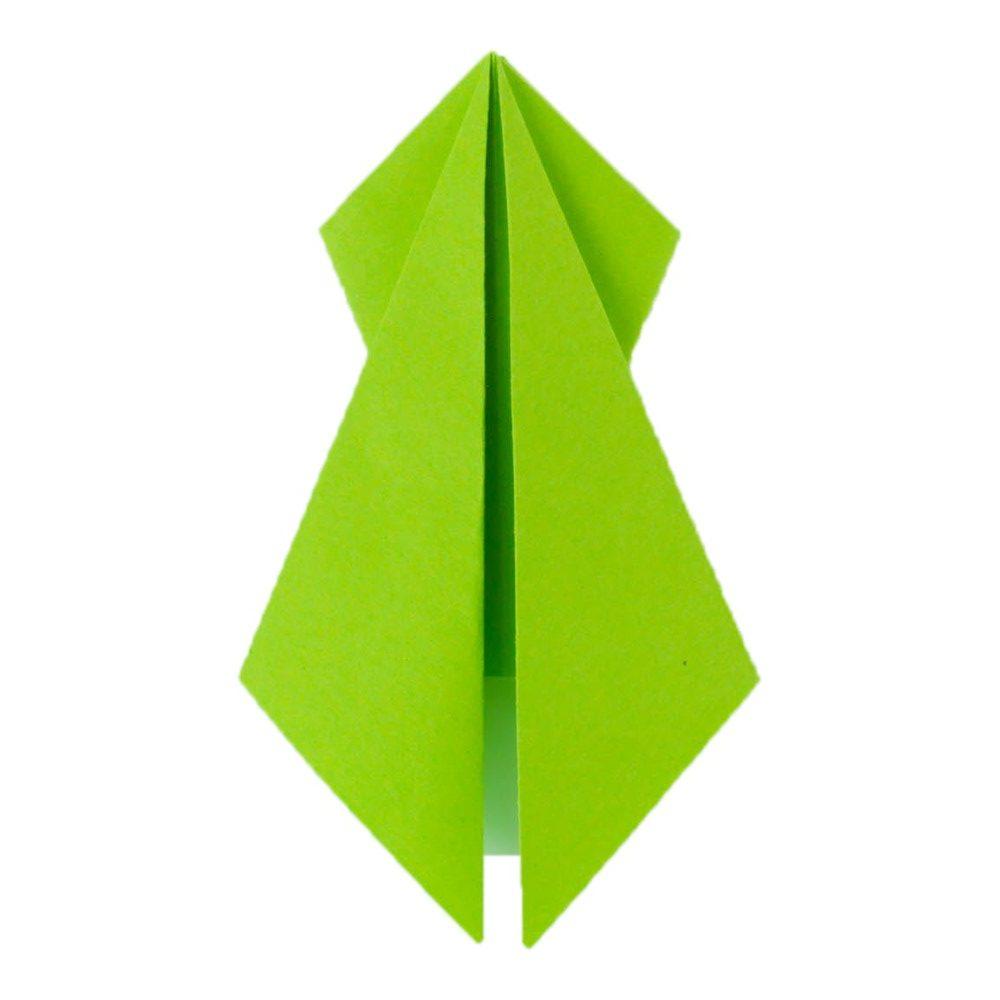 Origami Für Kinder Frosch Basteln Kindergarten Frösche Falten