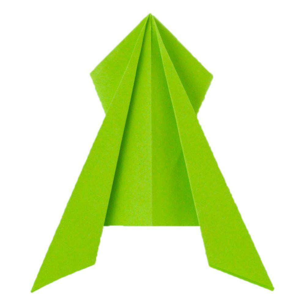 origami frosch frosch falten frosch basteln fr sche falten fr sche basteln einfach basteln. Black Bedroom Furniture Sets. Home Design Ideas