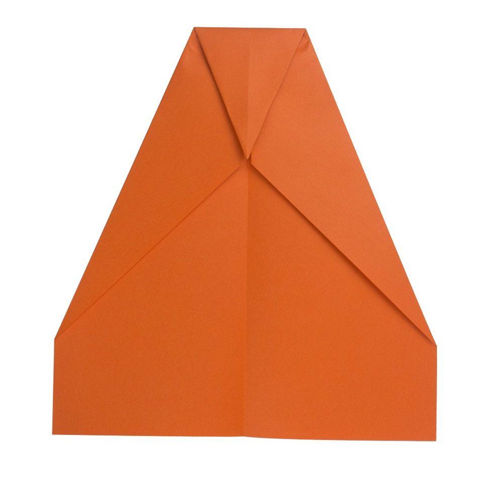 Papierflugzeug Gleiter - Schritt 6