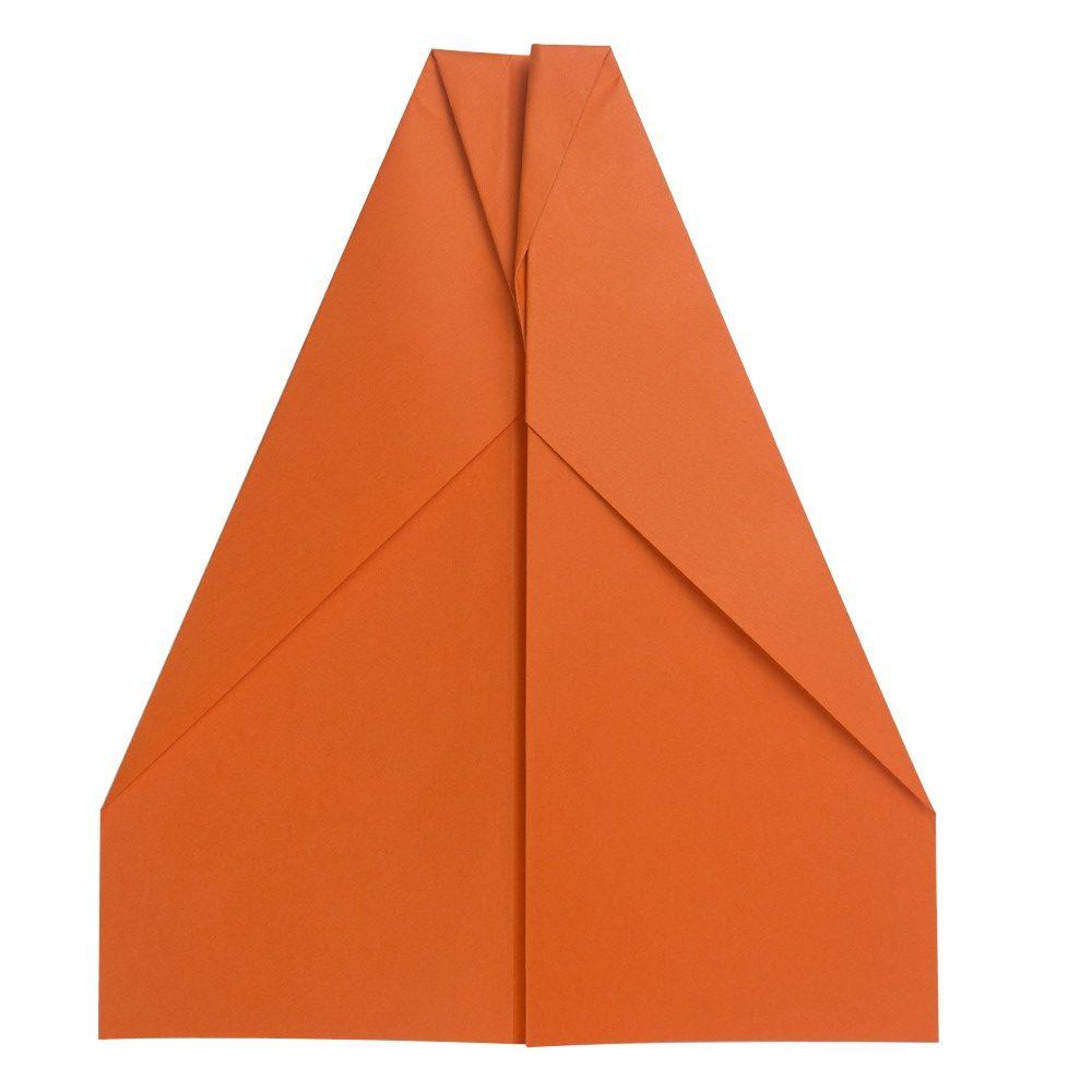 Papierflugzeug Gleiter - Schritt 8