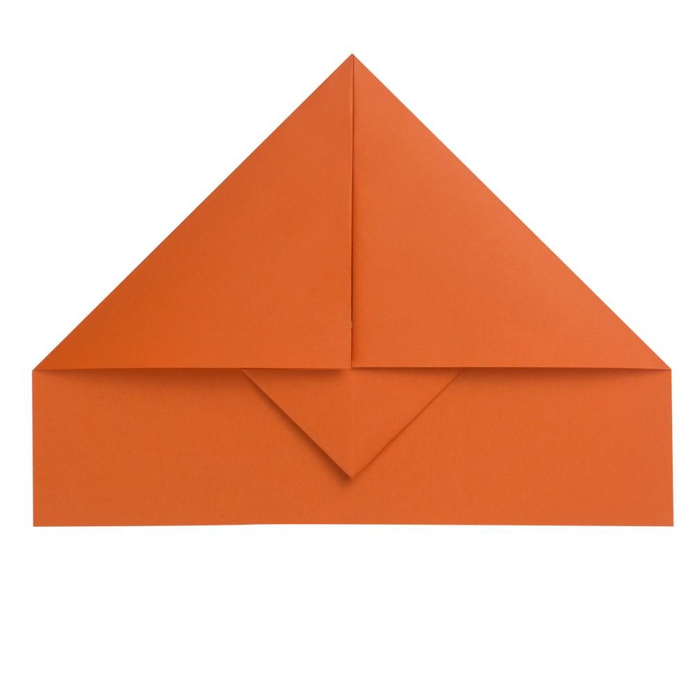 Papierflieger Taube - Schritt 4