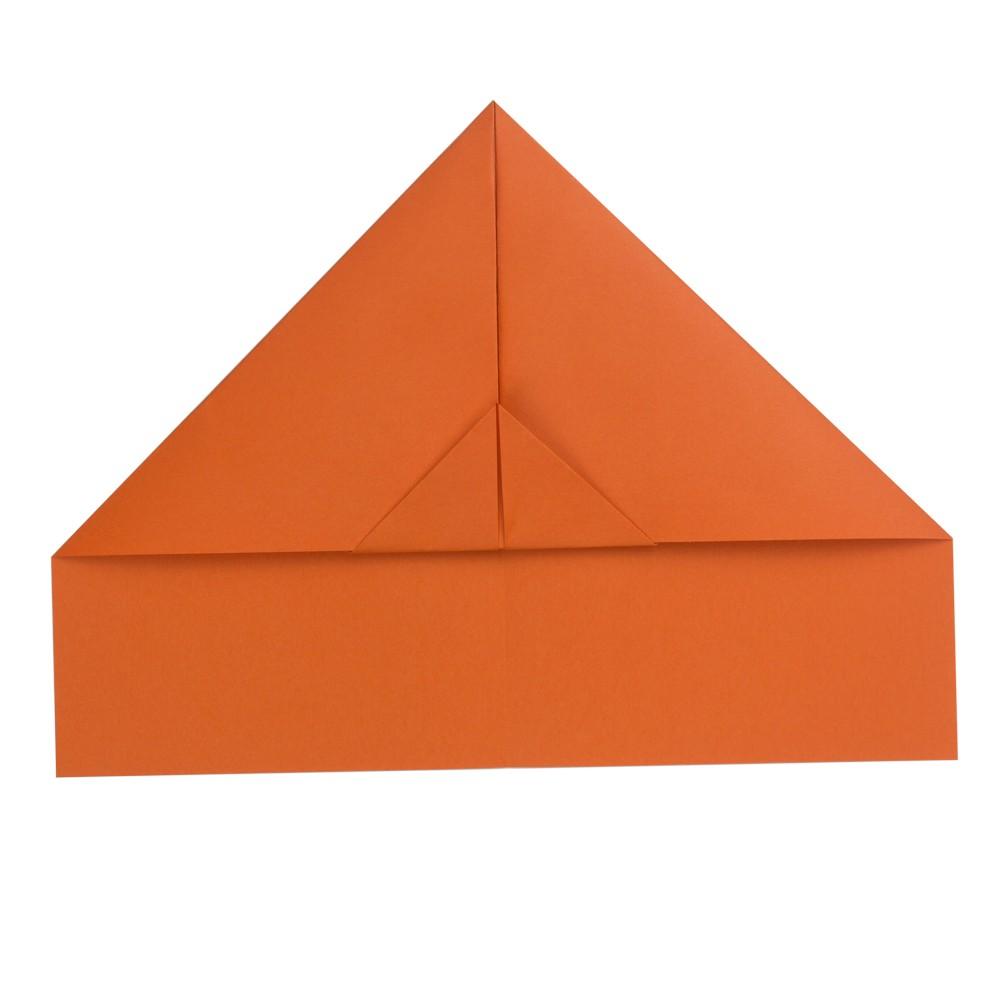 Papierflieger Taube - Schritt 5